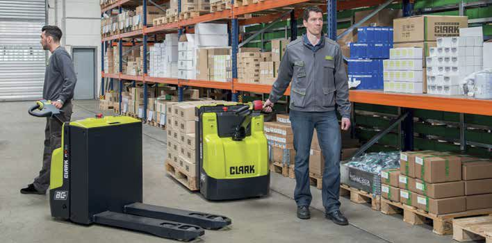 Warehouse pallet truck / with electric actuator / handling ...
