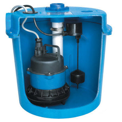 Wastewater Pump With Electric Motor Submersible Impeller Sds1
