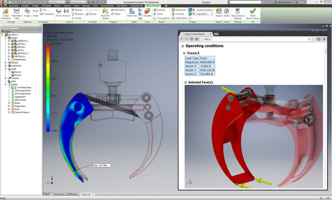 CAD software / simulation / 3D - Inventor® - AUTODESK - Videos