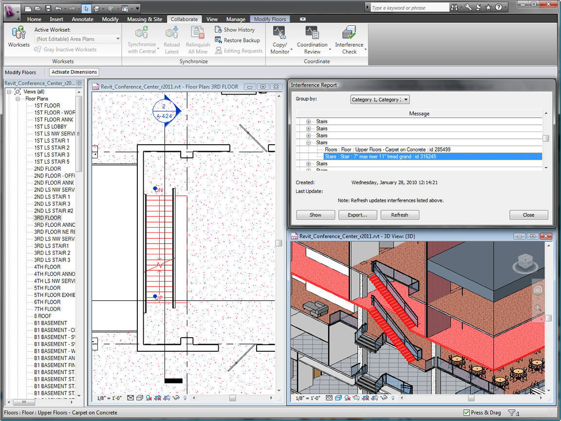 bim software / design / architecture / building - revit