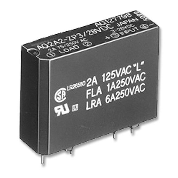 DC solid state relay / AC / 1 Form A / SIL - AQ-1 series