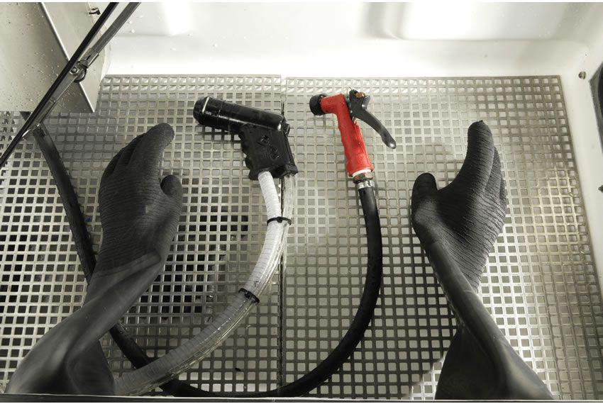 Stationary wet blasting machine / pressure / manual - Panther ...