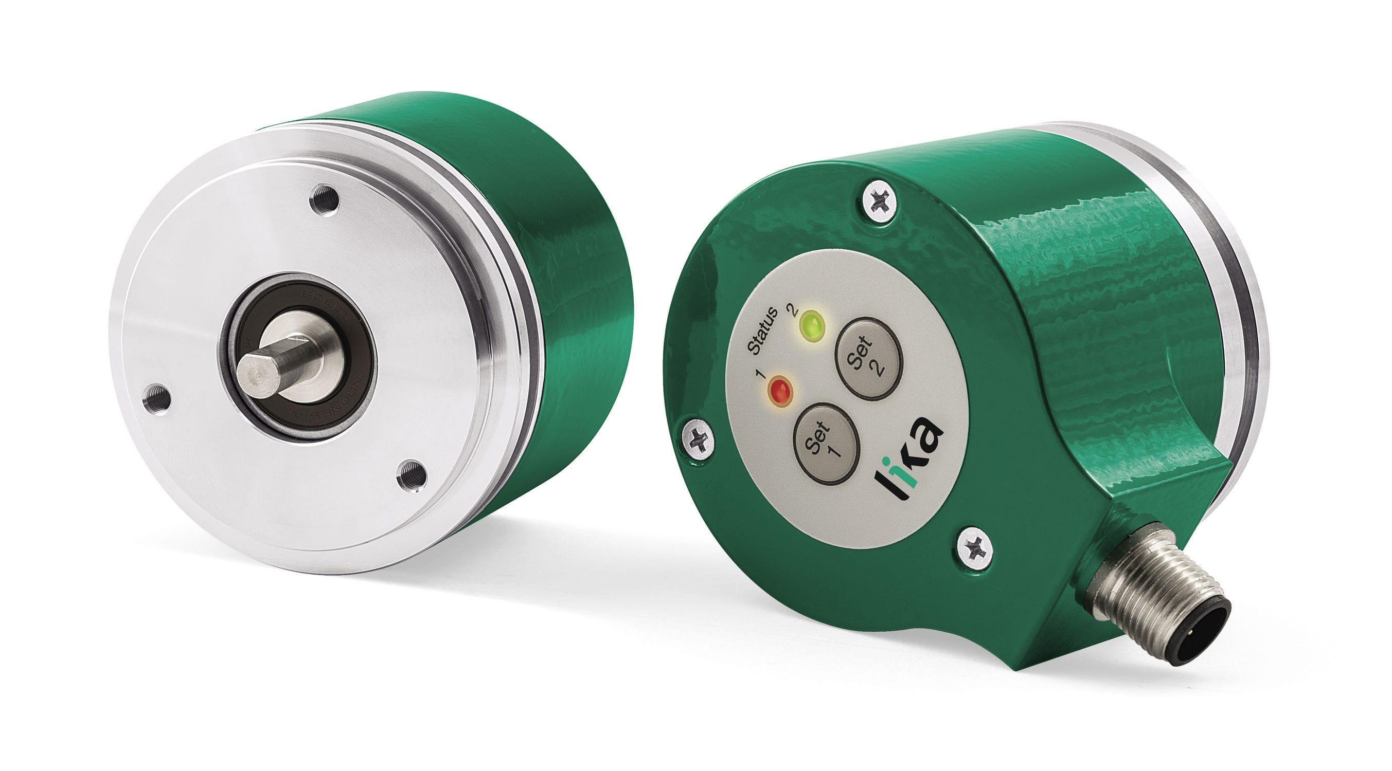 Absolute rotary encoder / analog / solid-shaft / multi-turn