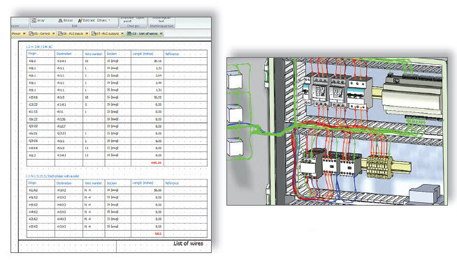 Electrical CAD software / electrical schematics / 3D / real-time ...
