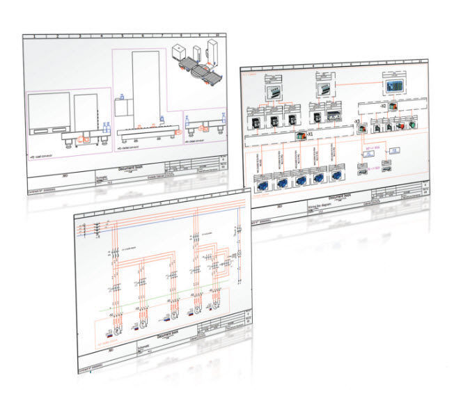 Electrical schematics software / 2D/3D / real-time - SolidWorks ...