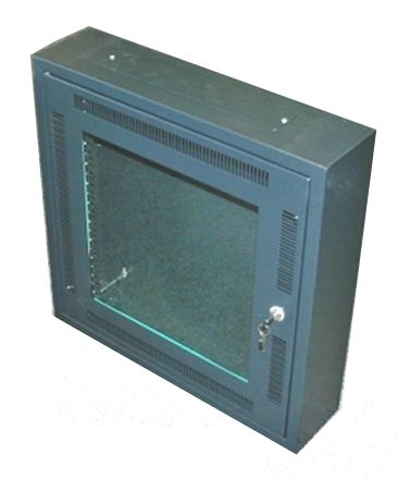 network cabinet / wall-mount / hinged door / steel - 12u | wnc