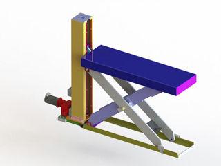 Superieur Scissor Lift Table / Electric / Ball Screw / Low Profile