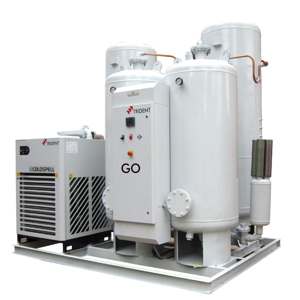 Oxygen production plant - GO series - Trident Pneumatics Pvt Ltd