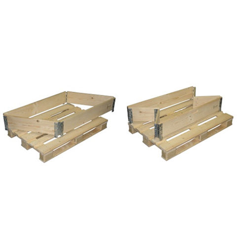 Foldable Pallet Collar Wood