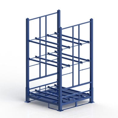 Storage warehouse shelving / for tires / with shelves - CR-GO-31