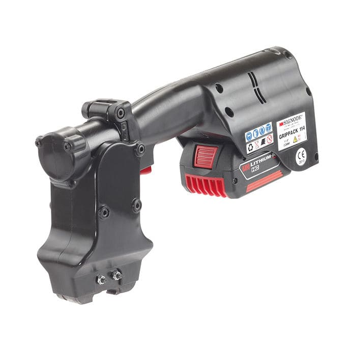Battery Powered Strapping Tool For Steel Straps