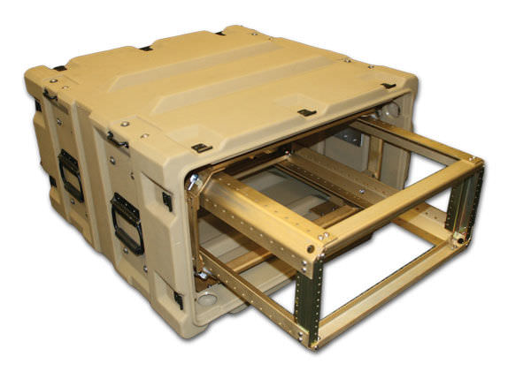 Transport Case Polyethylene 19 Rack