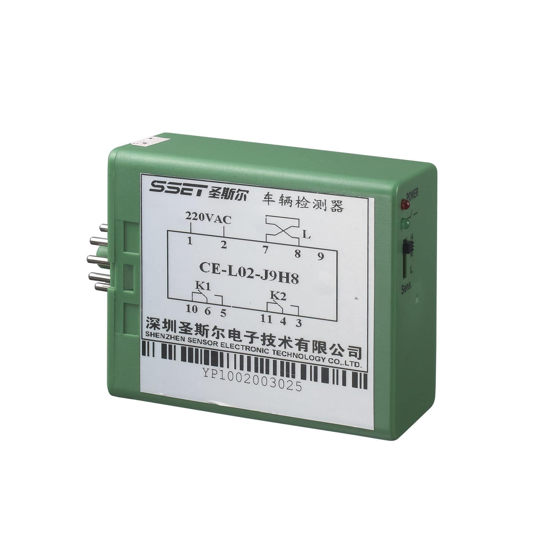 Presence Detector Vehicle Single Channel Digital Ce L02 J9 Loop Relay