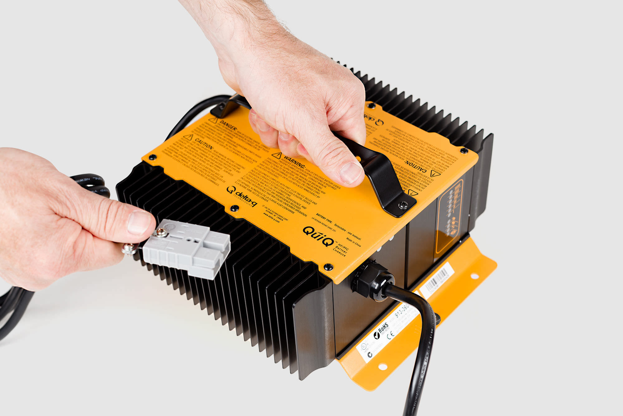 lead-acid battery charger / AGM / lithium-ion / fixed ...