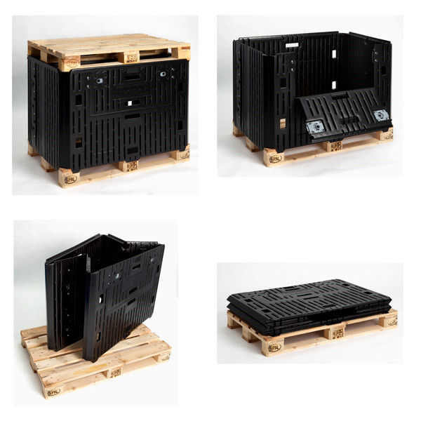 Plastic Pallet Box For The Automotive Industry Folding