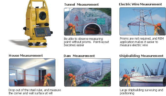 total station with prism manual waterproof nts 310b series rh directindustry com south total station operation manual south total station user manual