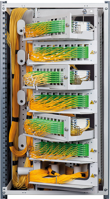 Electric cabinet / floor-mounted / for fiber optics - ORS 3/600 ...