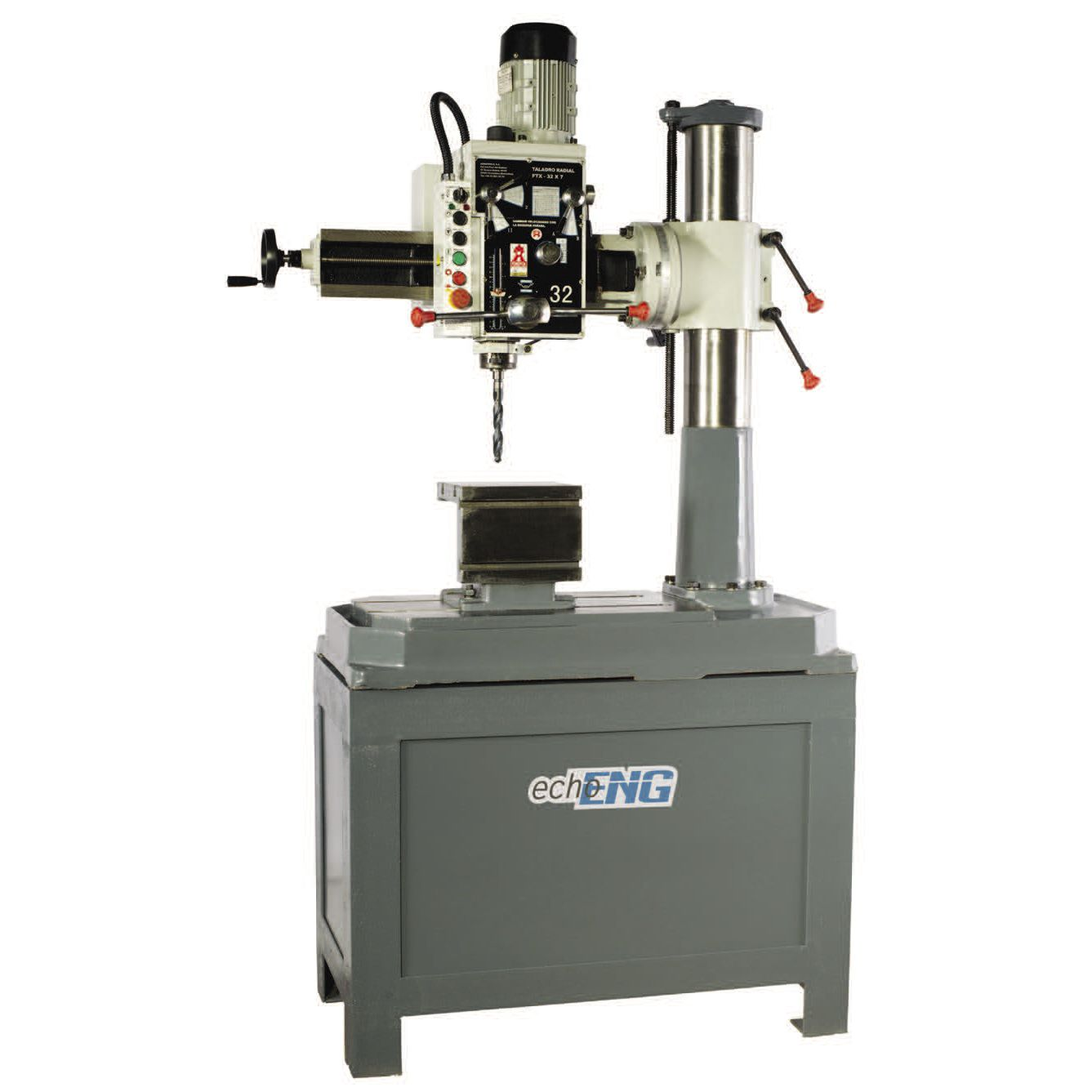 Radial drilling machine / single-spindle - FTX-32X7 TR - echoENG