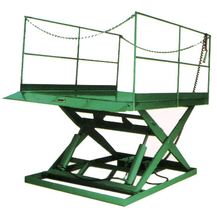Scissor lift table / electric / manual / stationary - MDL series