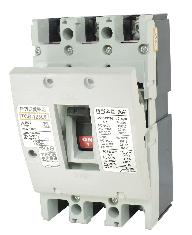 Thermal circuit breaker / magnetic / 3-pole / adjustable - TCB ...