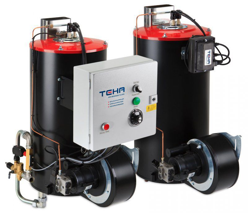 Hot water boiler / fuel oil / high-pressure - BR900 series - Teha