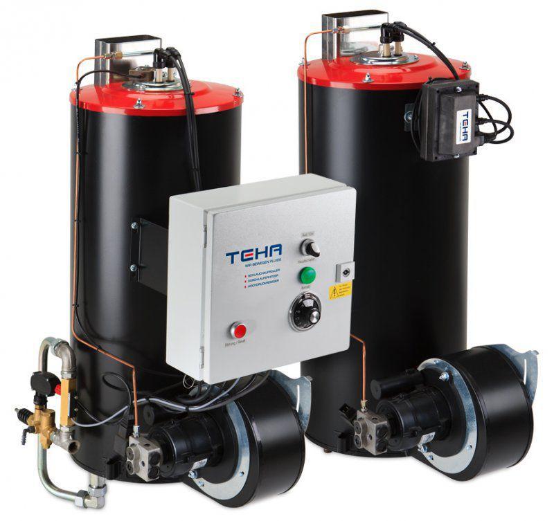 Hot water boiler / fuel oil / high-pressure - BR1000 series - Teha