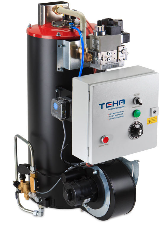 Hot water boiler / gas / high-pressure - BR1000G - Teha