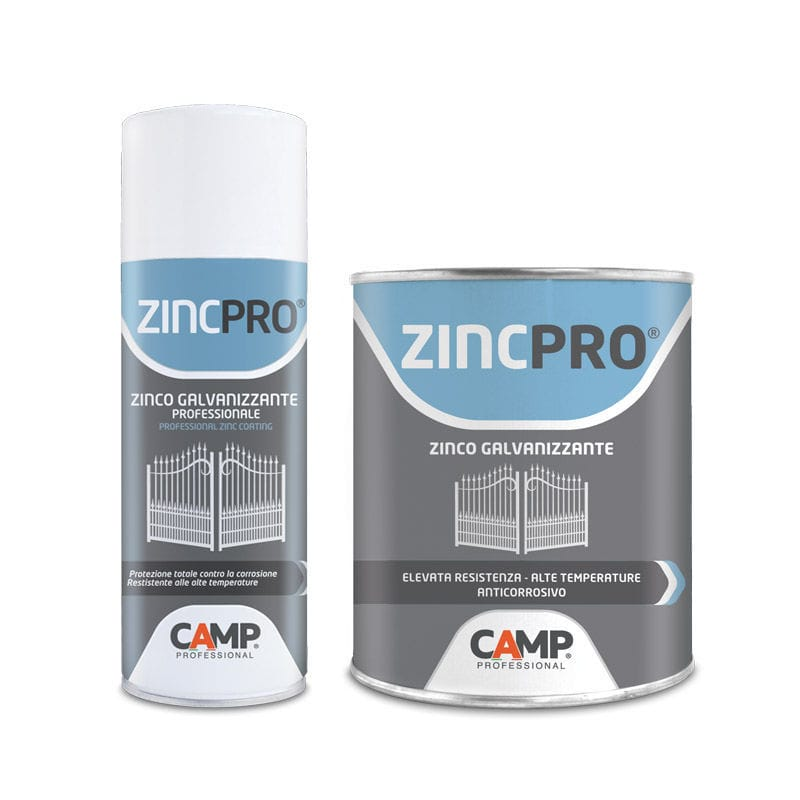Protective spray / with galvanizing compound / for metal / zinc-rich