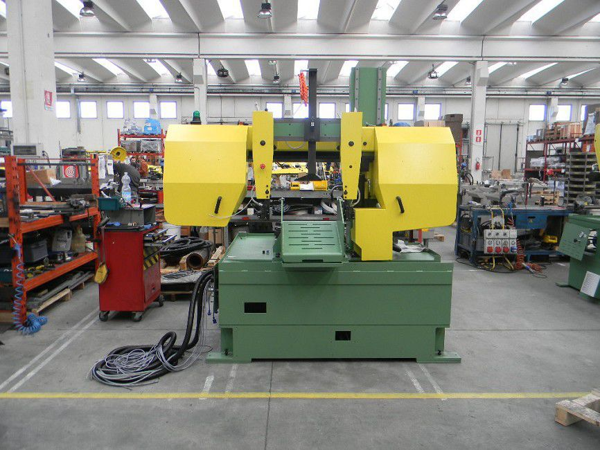 Band saw / for pipes / semi-automatic / horizontal - FMB