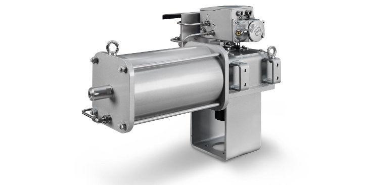 quarterturn valve actuator pneumatic cylinder rtc sti srl
