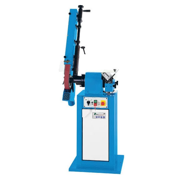 Surface grinding machine / for metal sheets / manually