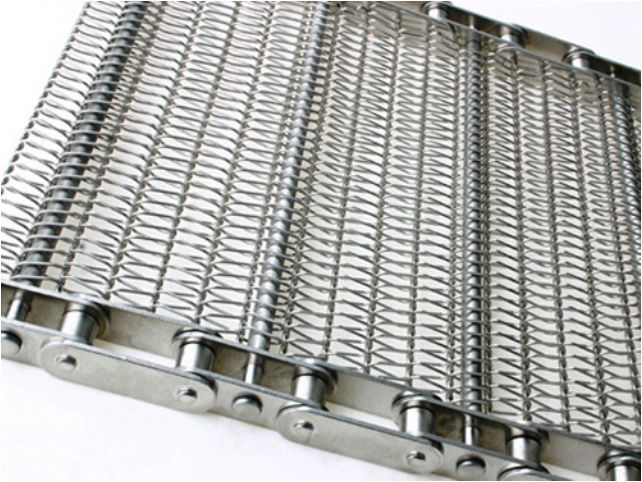 Wire mesh conveyor belt / stainless steel / chain drive - OSK 200-1 ...