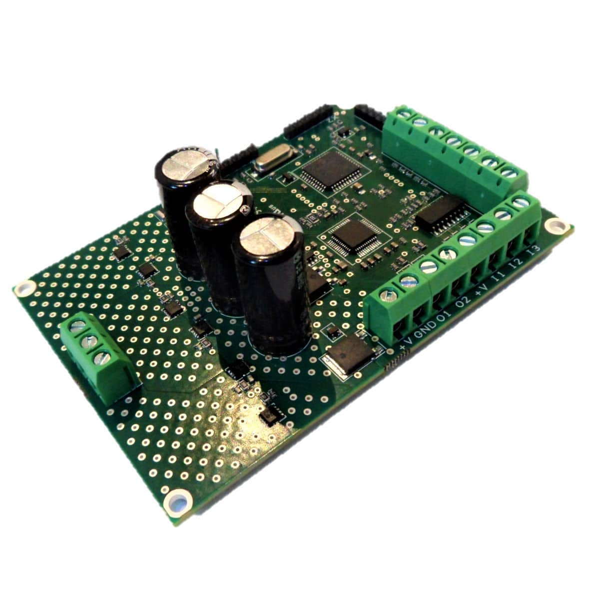 4-quadrant motor controller / DC / brushless / programmable