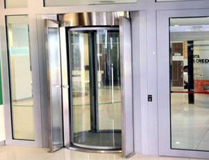 Curved sliding door / glass / indoor - ClearLock 630 - AUTOMATIC SYSTEMS