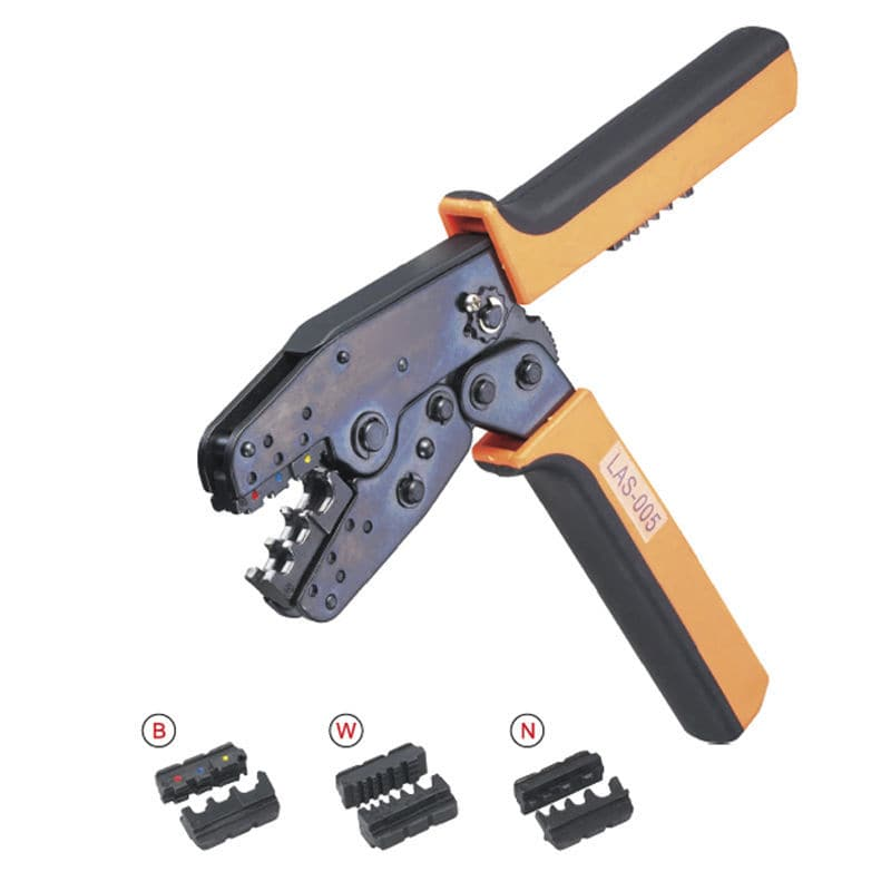 Manual crimping tool / for connectors / for cable lugs / for RJ45 ...