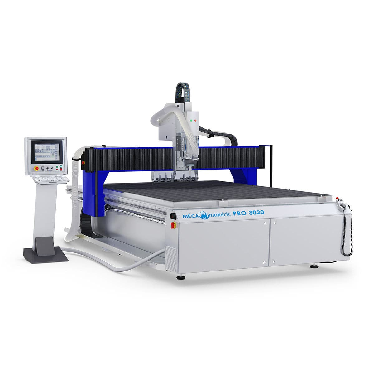 Cnc Router 3 Axis For Composites For Furniture Mecapro