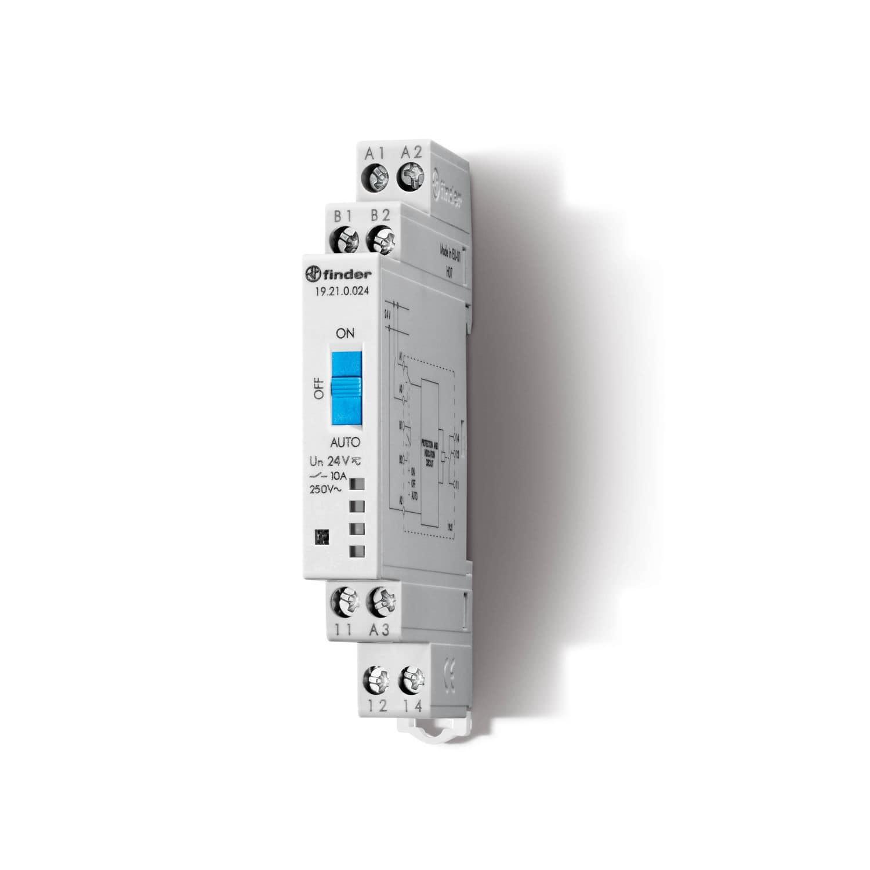Modular Relay Interface 19 Series Finder Spa Con Unico Socio Solid State