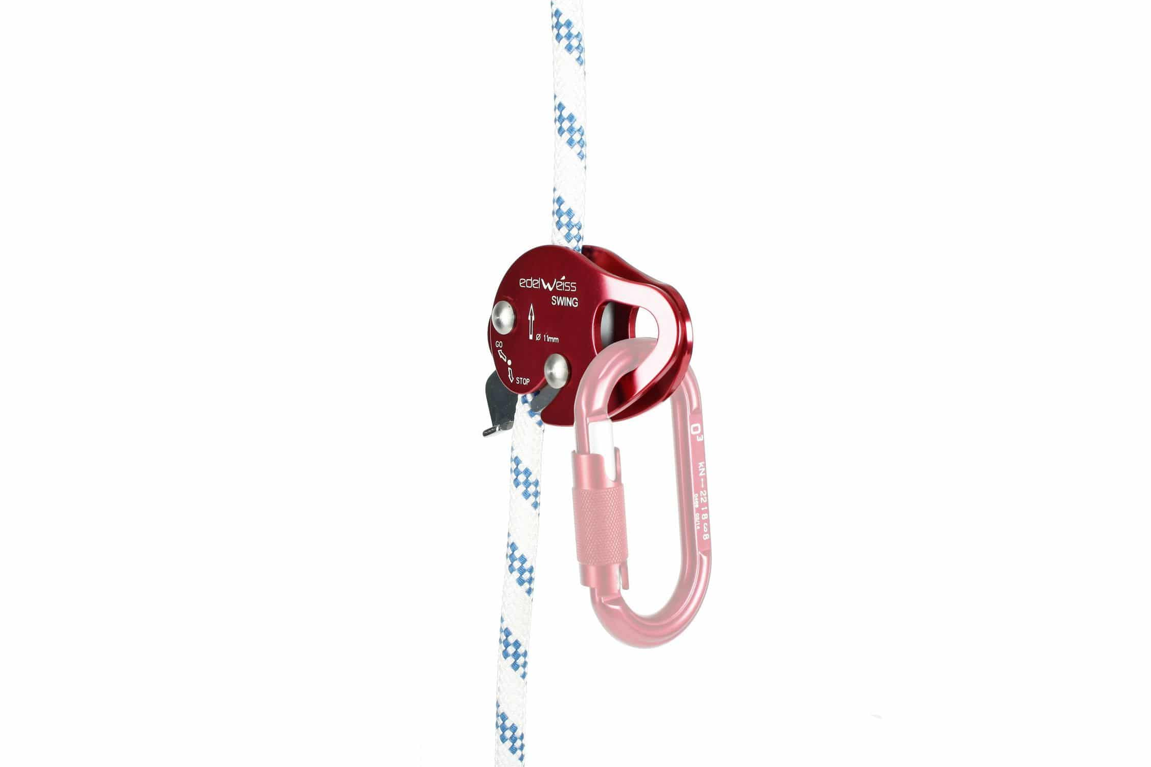 Rope Clamp Swing Edelweiss Sa Harness