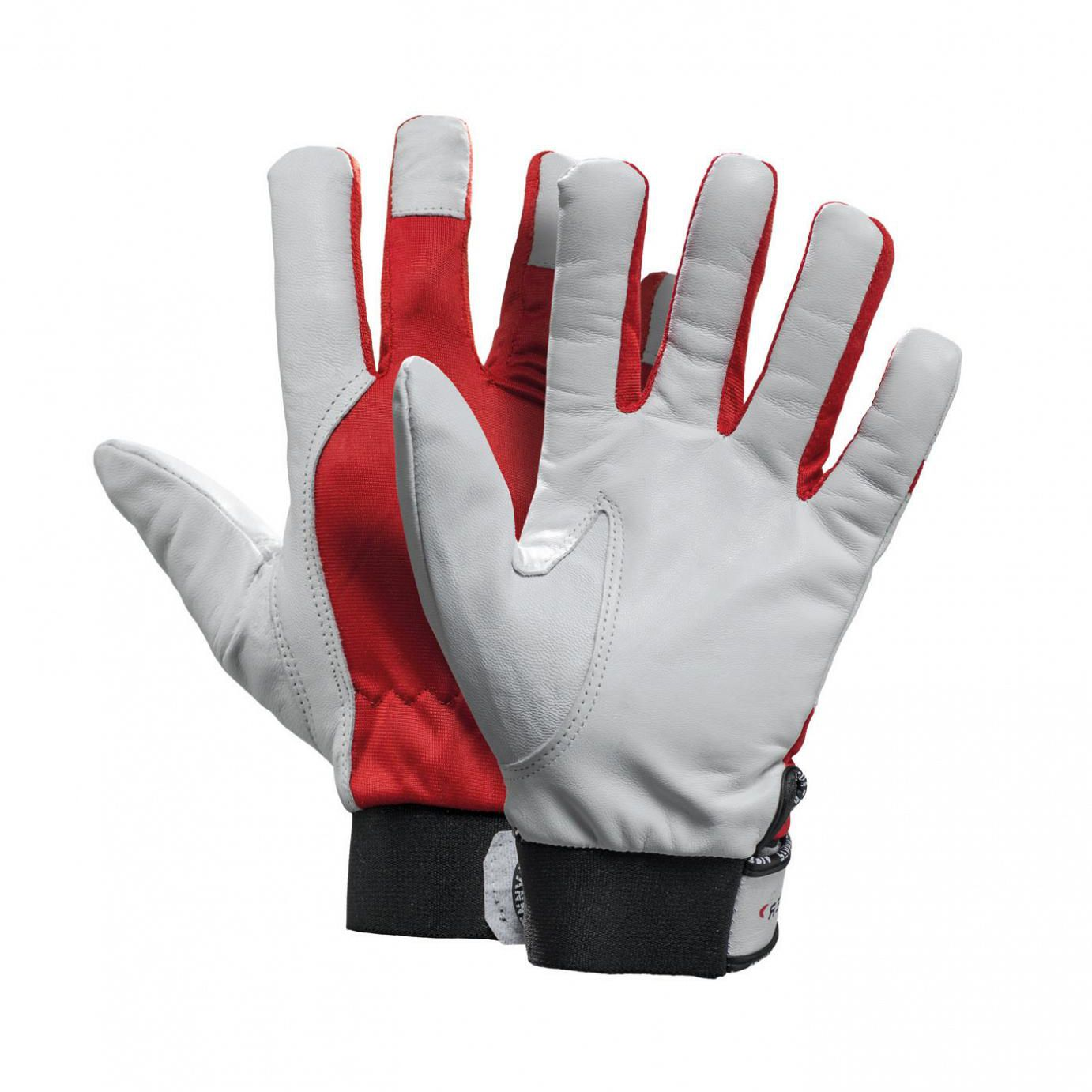 Thermal leather work gloves - Work Gloves Thermal Protection Leather For The Metallurgical Industry Stretchflex 100003