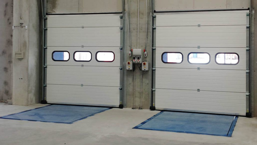Sectional Door / Industrial / Safety / Motorized ...