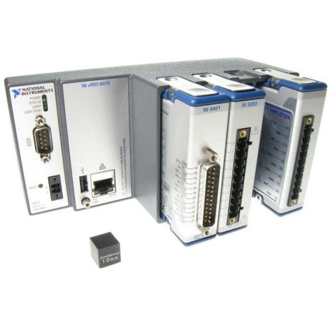 Closed-loop actuator controller / piezoelectric / with