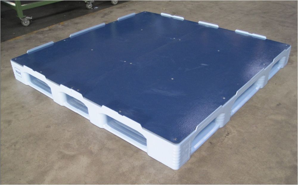Custom pallet / plastic / transport / non-slip - Paul