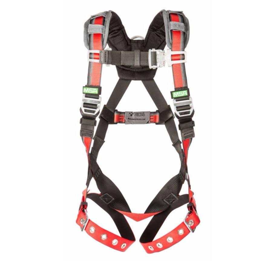 17034 9441282 fall arrest harness dorsal fixation point full body evotech