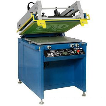 Automatic screen printing machine / four-color / for textiles / for