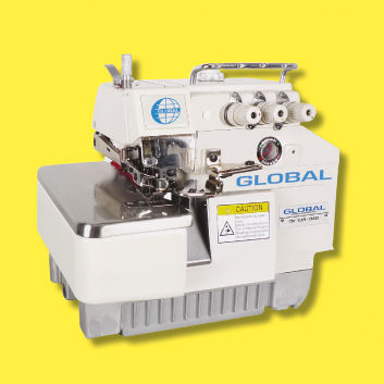 400thread Overlock Sewing Machine 40thread 40thread Highspeed Beauteous 5 Thread Overlock Industrial Sewing Machine
