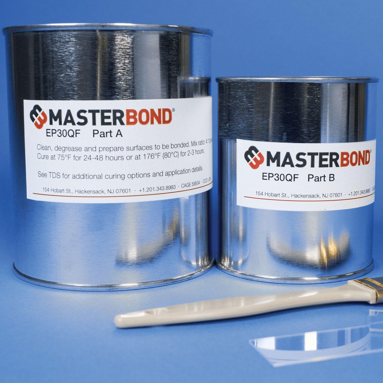 Two-component adhesive (epoxy, polyurethane)