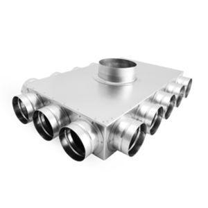 Exhaust fan / plenum - FLX-PRO series - ALNOR Ventilation