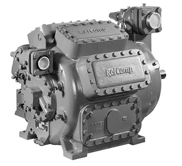 Open refrigeration compressor / piston / R134a / R22 - ORC-F ...
