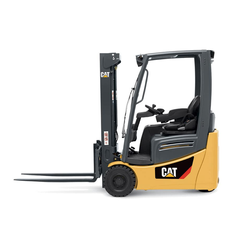Electric forklift ride on handling 3 wheel 2et series