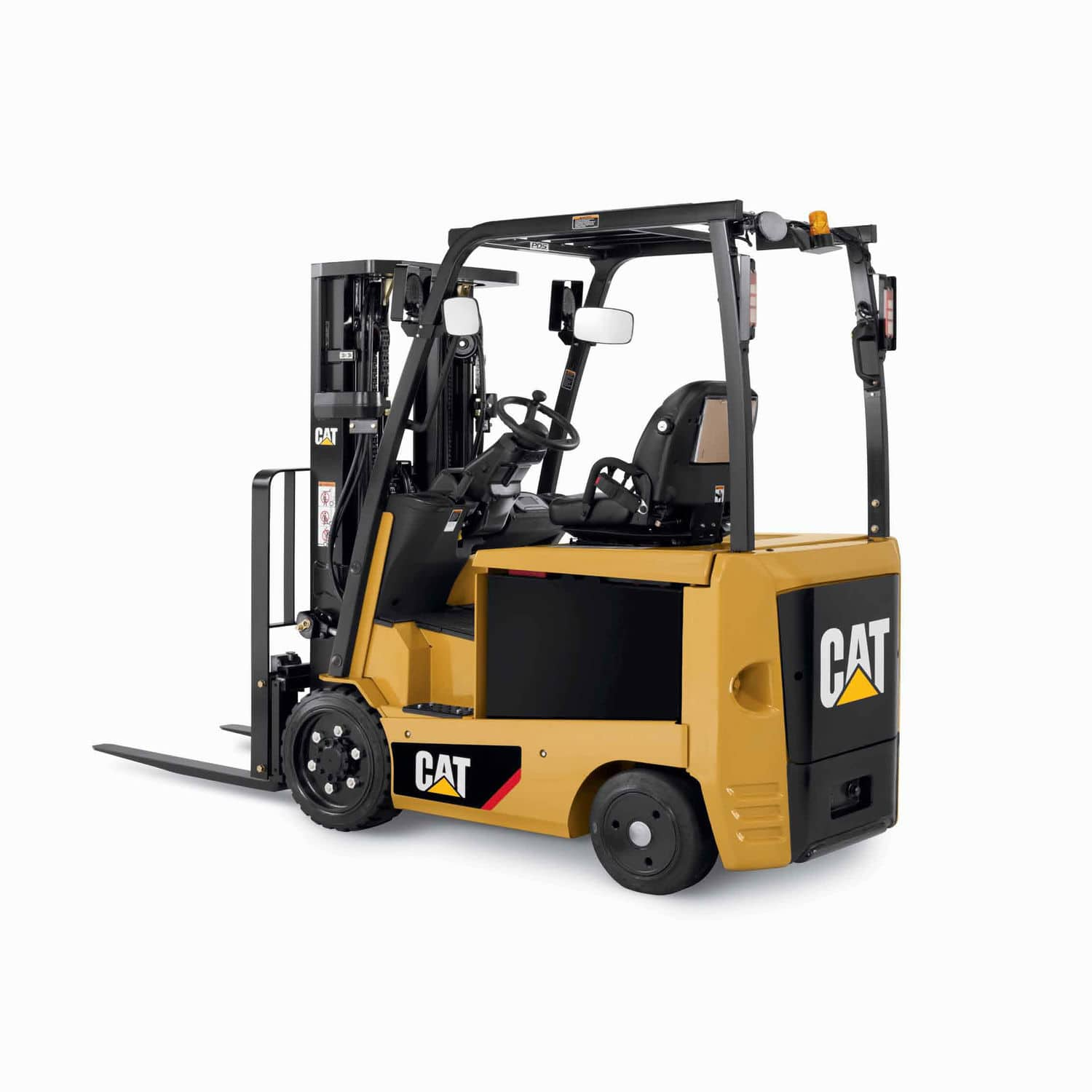 Electric forklift ride on handling cushion tire ecxxn2 ecxxln2 series